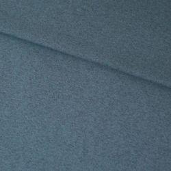Bord-côte bio chiné bleu/gris