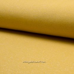 Molleton lurex ocre