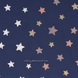 Softshell magique imprimé étoiles marine