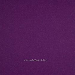 Bord-côte violet lurex violet