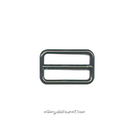 Barettes soutien-gorge plastique noir