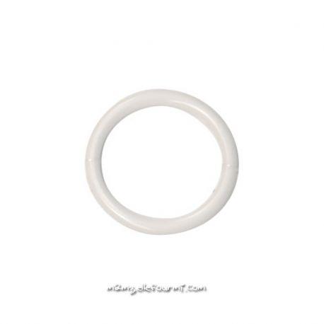 Anneau soutien-gorge plastique blanc