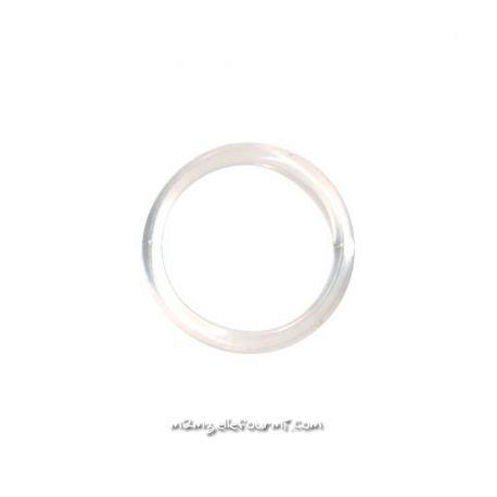 Anneau soutien-gorge plastique transparent