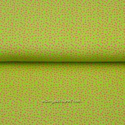 Jersey pointillés lime