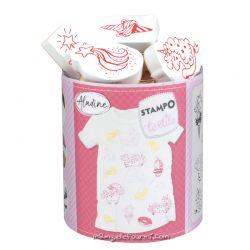Stampo textile IZINC - Magical licornes
