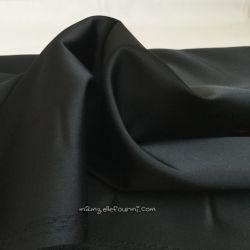 Satin stretch noir