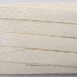 Élastique bretelles fantaisie 18 mm - ivoire
