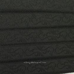 Élastique bretelles fantaisie 18 mm - noir