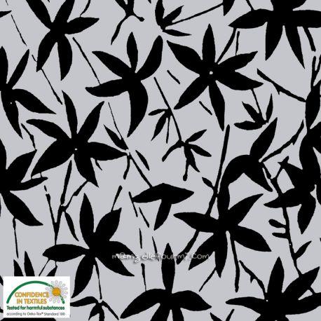 Sweat fleurs black