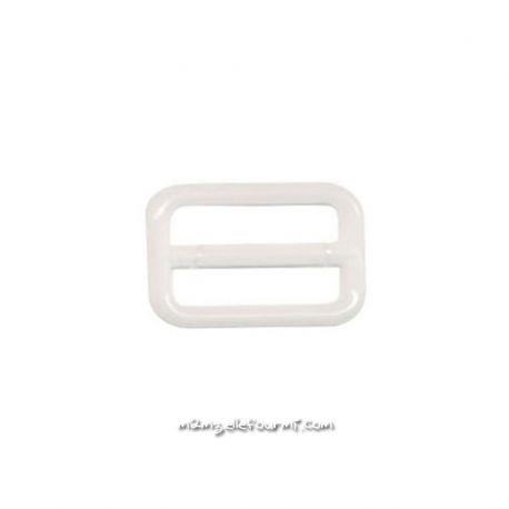 Barrettes soutien-gorge plastique blanc