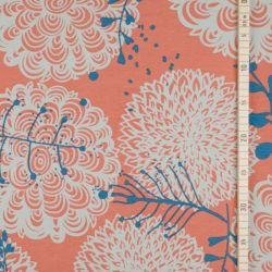 Jersey modal chrysanthème corail