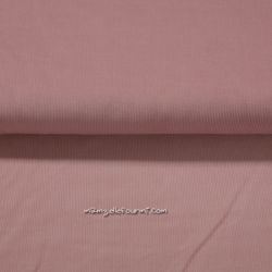 Velours babycord rose antique