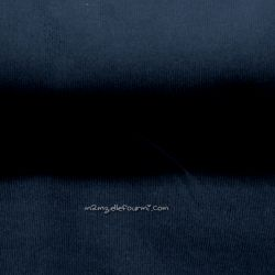 Velours babycord dark navy