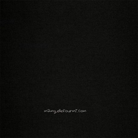 Toile imperméable noire