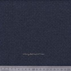 Jersey texturé chiné marine