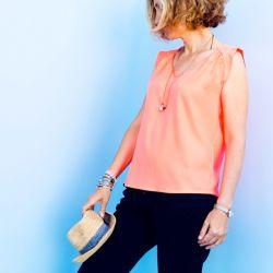 Patron blouse/robe Suun