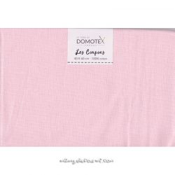 Coupon coton uni blush