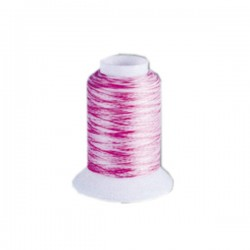Fil mousse Wooly Nylon multicolore rose