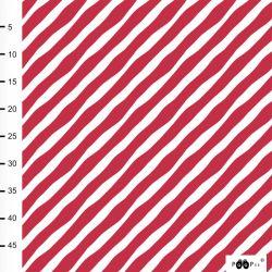 Jersey bio diagonal rouge