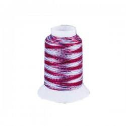 Fil mousse Wooly Nylon multicolore feu
