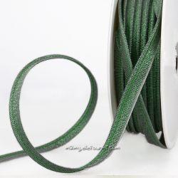 Passepoil scintillant vert