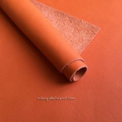 Cuir orange