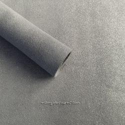 Croute de cuir gris pailleté argent