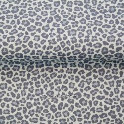 Jersey léopard bleu