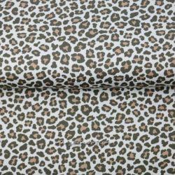 Jersey léopard beige