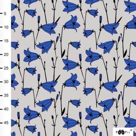 Jersey bio bluebell sable/bleu