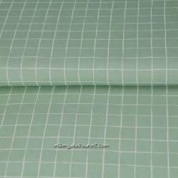 Popeline square vert