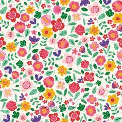 Popeline Frida floral