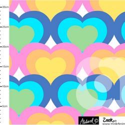 Jersey bio hearts pastel