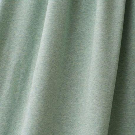 Jersey bio stretch chiné menthe
