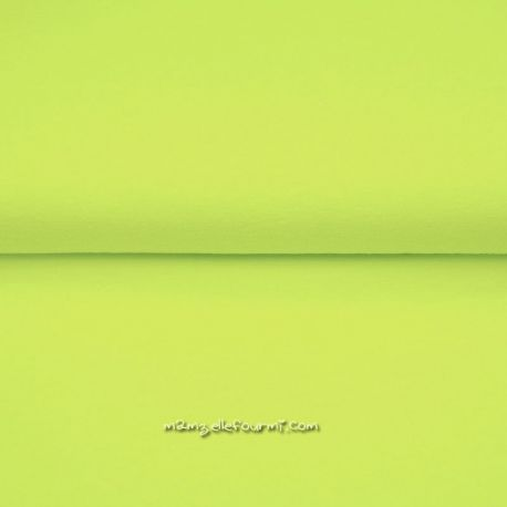 Bord-côte fluo jaune