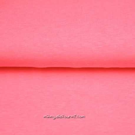 Bord-côte fluo rose