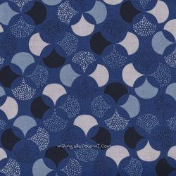 Coton lisbonne bleu