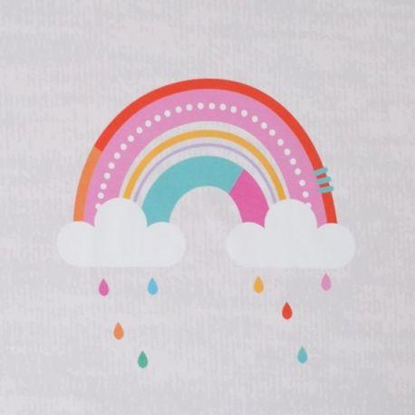 Jersey bio panneau regenbogen
