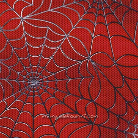Microfibre polyester spiderman