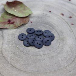 Bouton Atelier Brunette classic mat 10 mm midnight