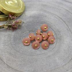 Bouton Atelier Brunette jewel 9 mm melba