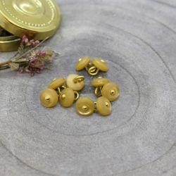 Bouton Atelier Brunette jewel 9 mm mustard