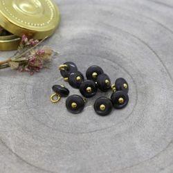 Bouton Atelier Brunette jewel 9 mm night