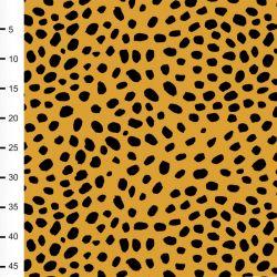Jersey bio cheetah dots ocre