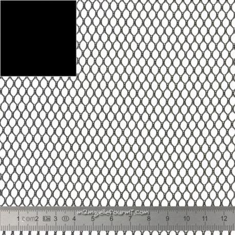 "Tissu filet ""mesh"" noir"