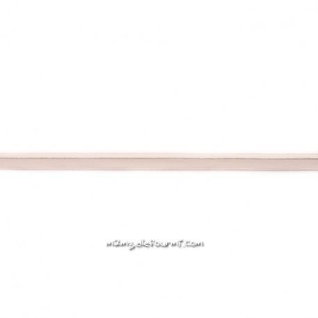 Passepoil élastique beige