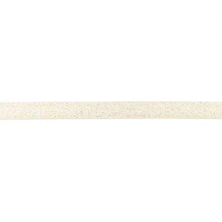Élastique bretelles lurex 10 mm ivoire