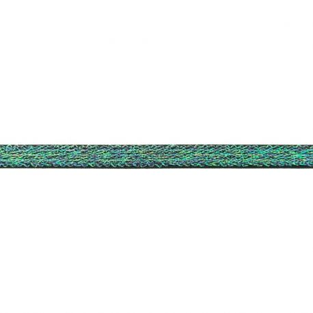 Élastique bretelles lurex 10 mm noir