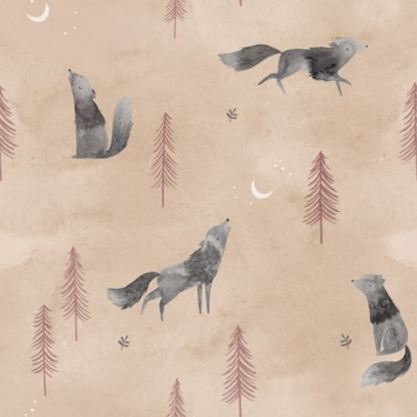 Popeline wolf howl