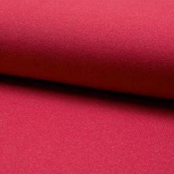 Molleton lurex rouge